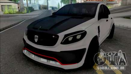 Mercedes-Benz GLE Coupe AMG Lumma para GTA San Andreas