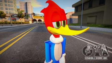 Woody Woodpecker (Pica-Pau) para GTA San Andreas