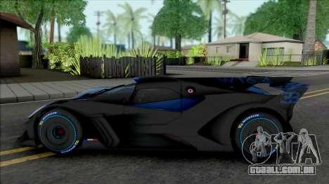 Bugatti Bolide 2024 para GTA San Andreas