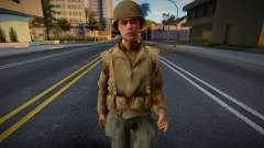 Call of Duty 2 American Soldiers 2 para GTA San Andreas