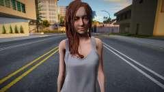 RE8 Village Mia Winters Casual para GTA San Andreas