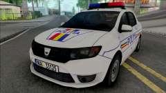 Dacia Logan 2013 Politia