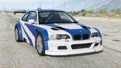 BMW M3 GTR (E46) Mais Procurados〡d-on v2.2b para GTA 5