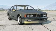 BMW M635 CSi (E24) 1986〡add-on v1.0a para GTA 5