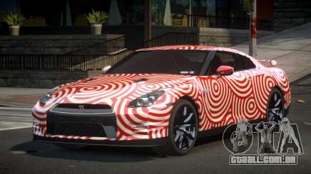 Nissan GT-R UR S7 para GTA 4