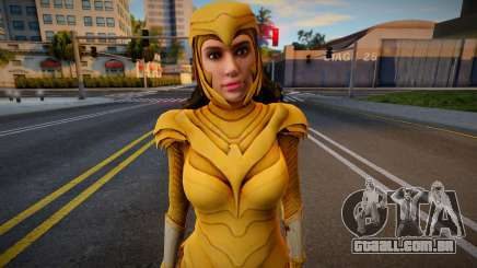 Wonder Woman 1984: Golden Eagle Armor (Without W para GTA San Andreas