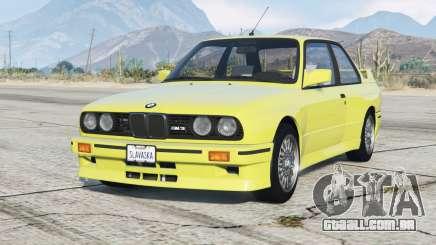 BMW M3 (E30) 1991〡add-on para GTA 5