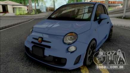 Fiat 500 Abarth 2014 SA Style para GTA San Andreas