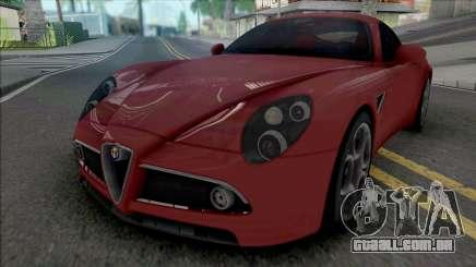 Alfa Romeo 8C Competizione 2007 IVF Style para GTA San Andreas