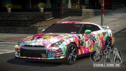 Nissan GT-R UR S3 para GTA 4