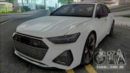 Audi RS6 Avant 2020 para GTA San Andreas