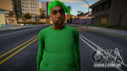 Groove Street Families HD (FAM1) para GTA San Andreas