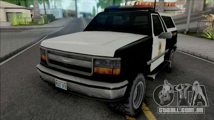 Vapid Riata 1992 Sheriff para GTA San Andreas