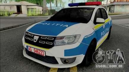 Dacia Logan 2020 Politia para GTA San Andreas