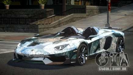 Lamborghini Aventador GST-J S4 para GTA 4
