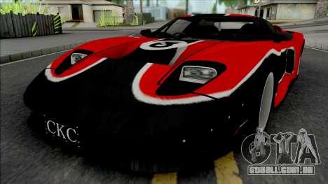 Ford GT Nikki (NFS Carbon) para GTA San Andreas