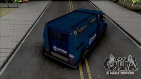 NIKOB Security Van para GTA San Andreas