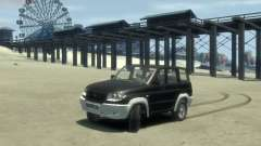 Uaz 3160 4x4 para GTA 4