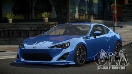 Subaru BRZ U-Style para GTA 4