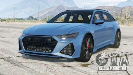 Audi RS 6 Avant (C8) 〡add-on 2019 para GTA 5