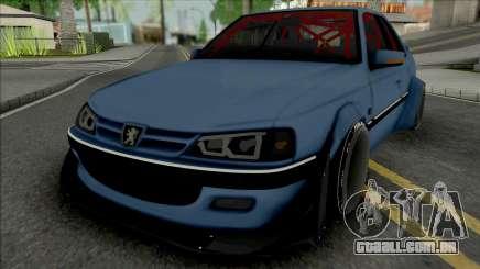 Peugeot Pars Rocket Bunny para GTA San Andreas