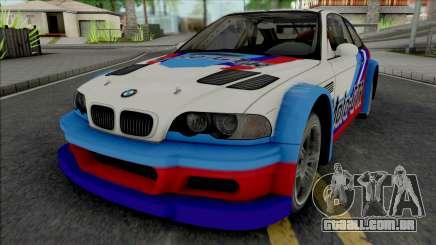 BMW M3 GTR (NFS Most Wanted 5-1-0) para GTA San Andreas