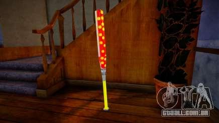 Red baseball bat para GTA San Andreas